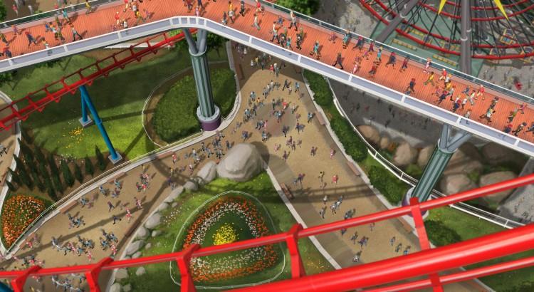 Planet Coaster concept art