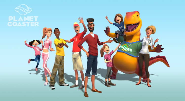 Planet Coaster character models