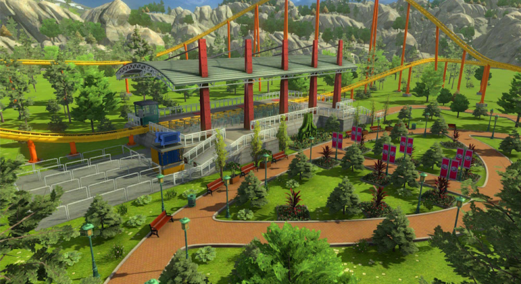New RollerCoaster Tycoon World Info - Theme Park Games