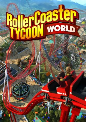 Building Coasters in Rollercoaster Tycoon World - Theme Park