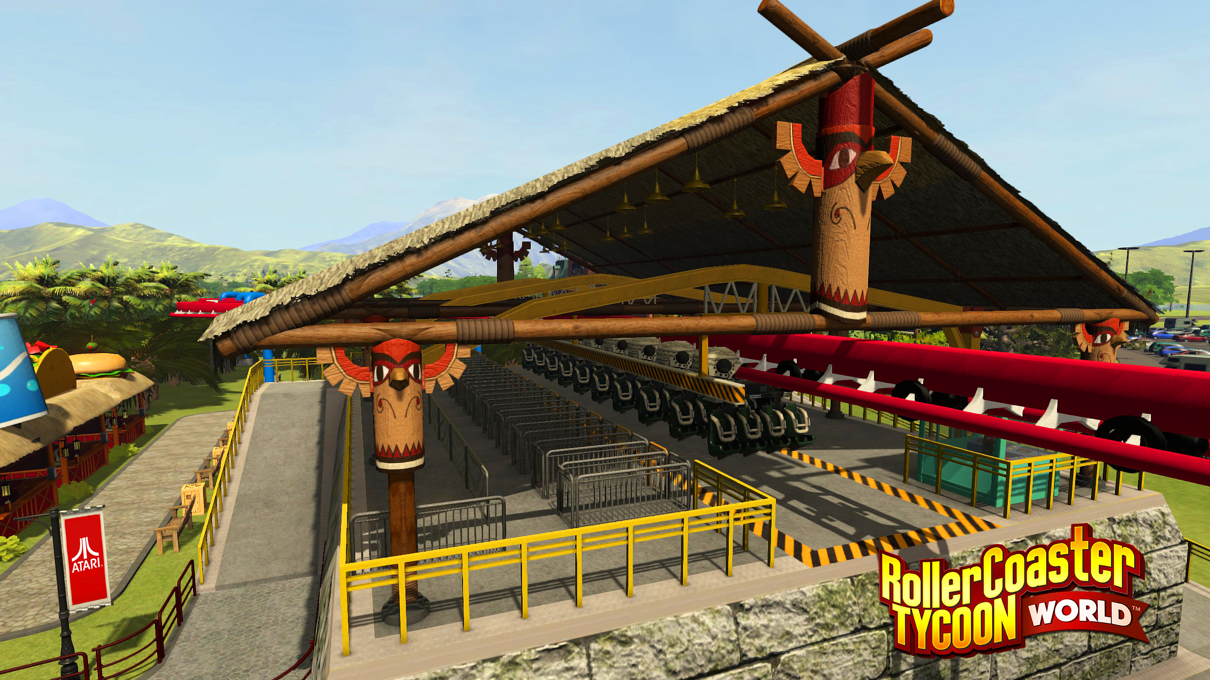 RollerCoaster Tycoon World Archives - Theme Park Games
