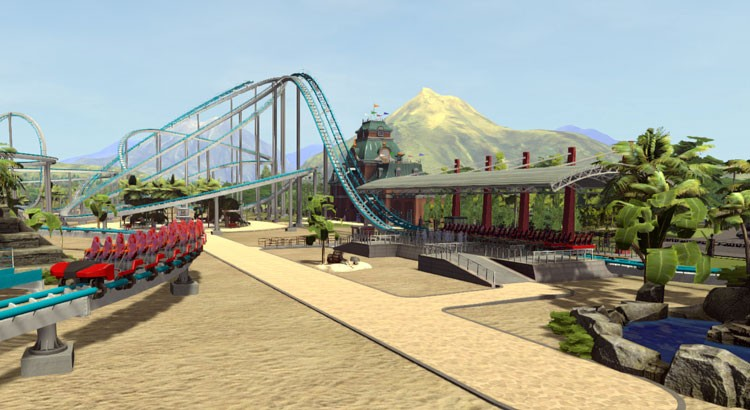Building Roller Coasters in Roller Coaster Tycoon World
